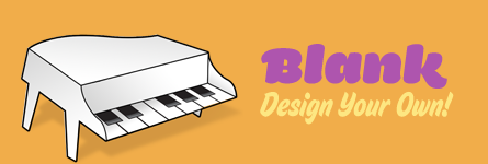 Blank Paper Piano